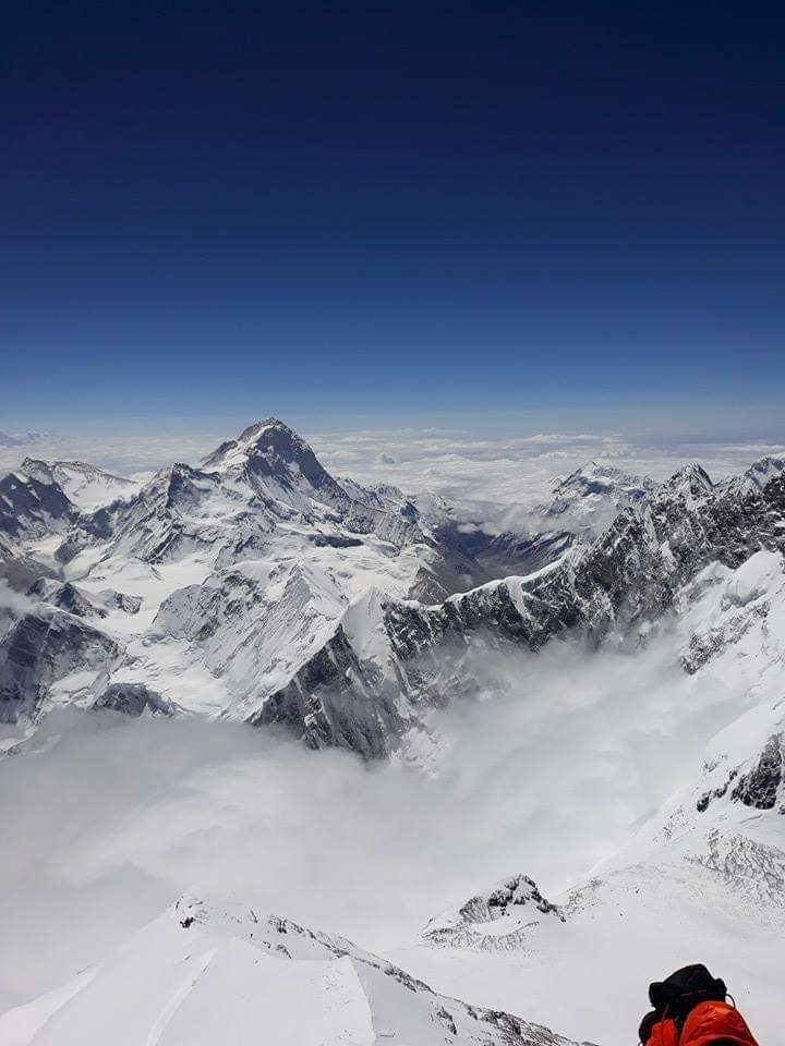 Everest balconi view of mt makalu