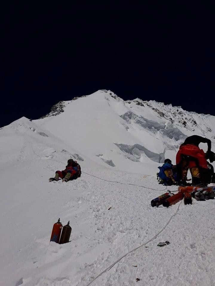 Everest balcony