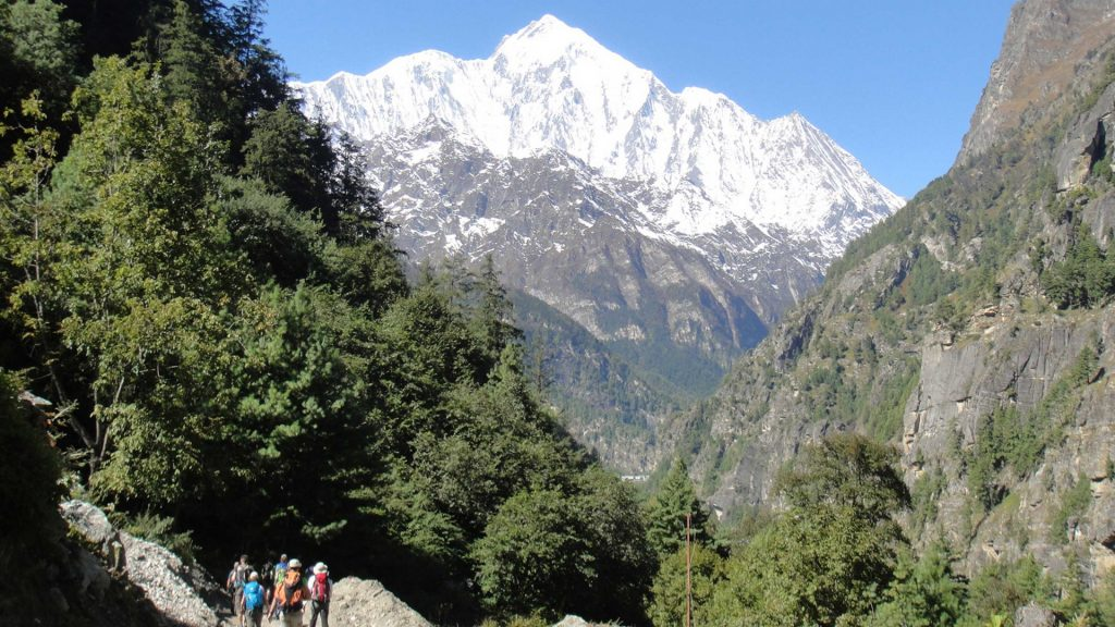 Annapurna base camp trek 1