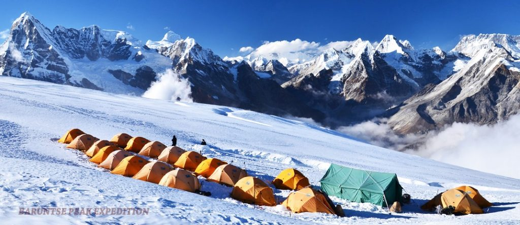 Baruntse peak climbing 1