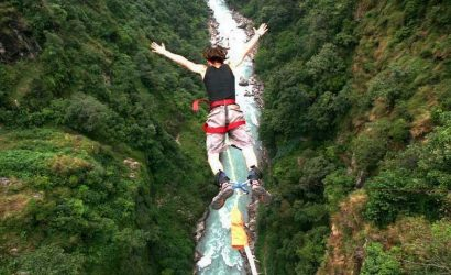 Bungee jumping in nepal 1