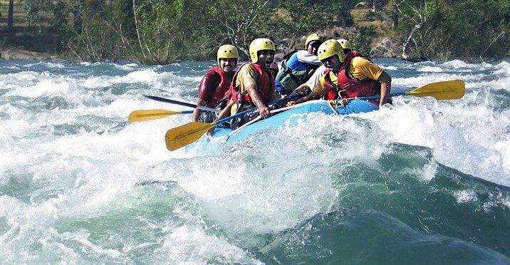 Kali gandaki river rafting 1