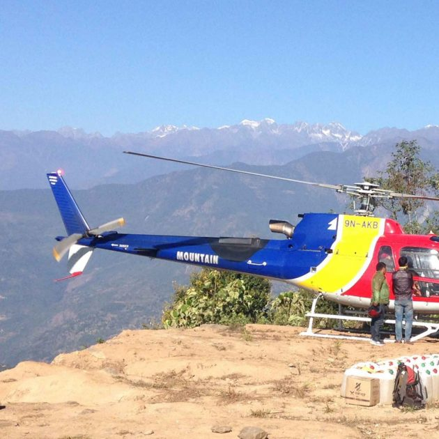 Makalu base camp helicopter tour 3