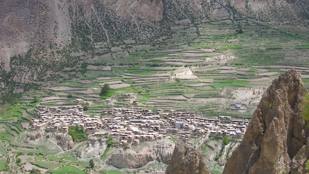 Manang helicopter tour 6