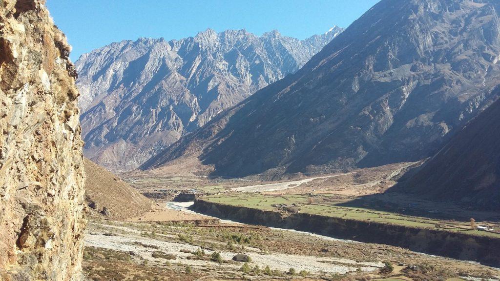 Manaslu trek combined tsum valley trek 10