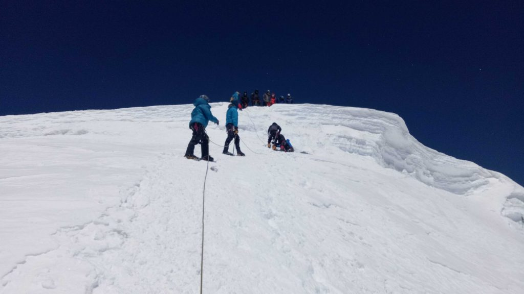 Mera peak climbing 12