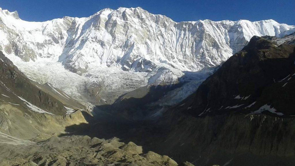 Mount annapurna base camp helicopter tour 1
