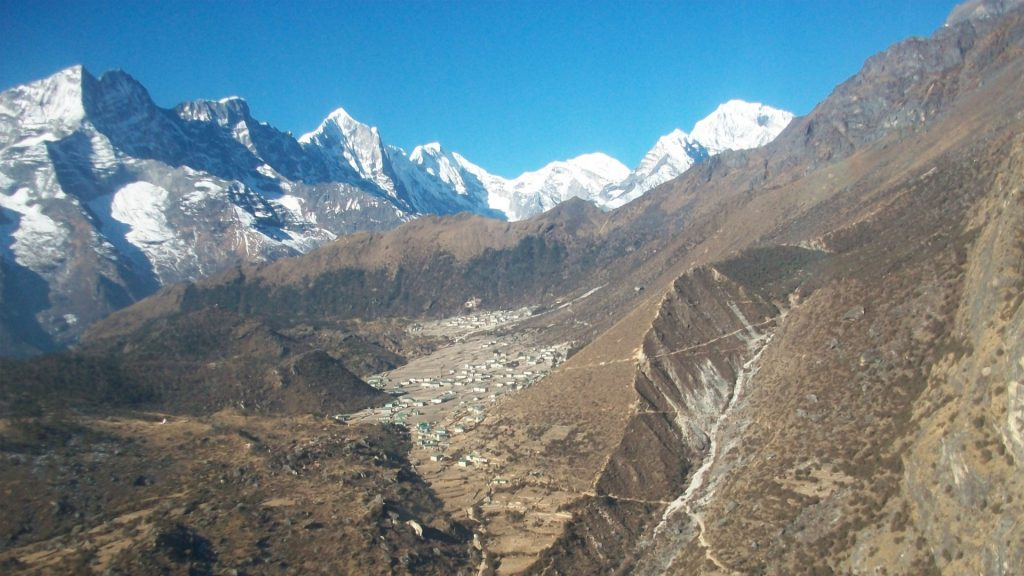 Mount everest helicopter tour 1