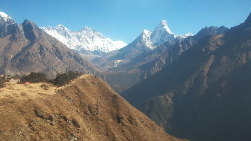 Mount everest helicopter tour 5