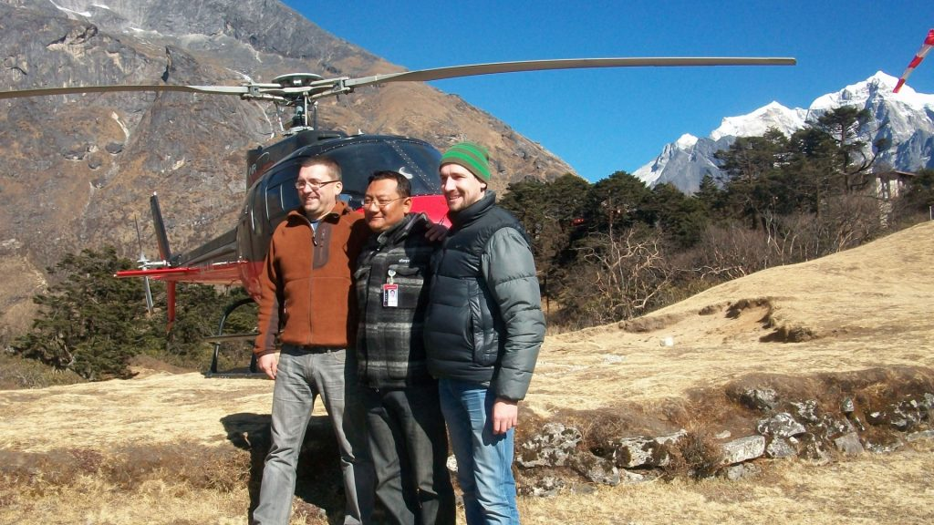 Mount everest helicopter tour 6