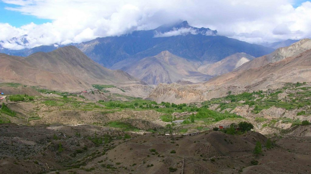 Muktinath helicopter tour 3