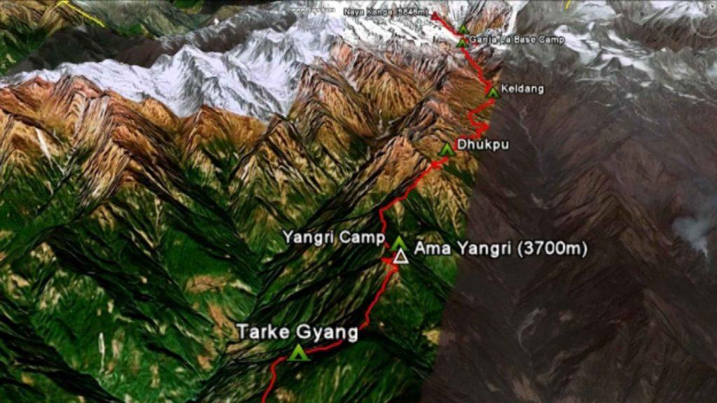 Naya kanga peak climbing 3