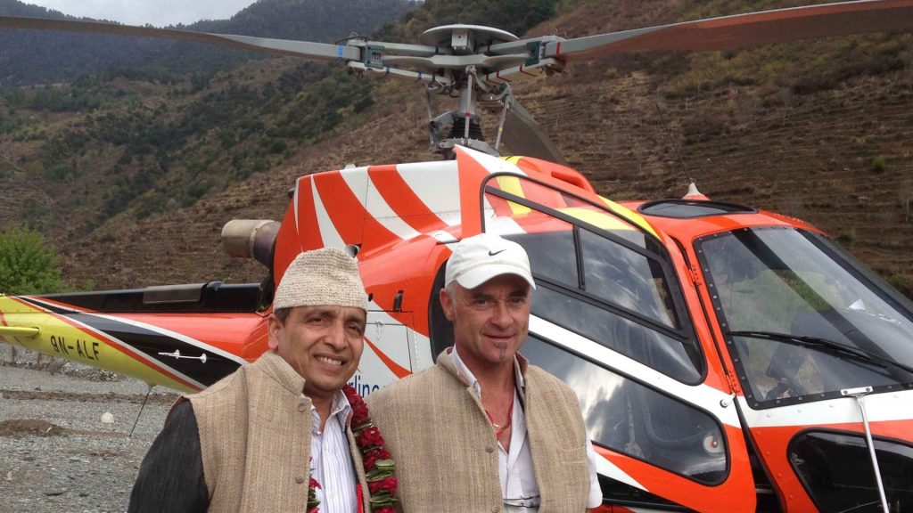 Rukum taksera helicopter tour 6