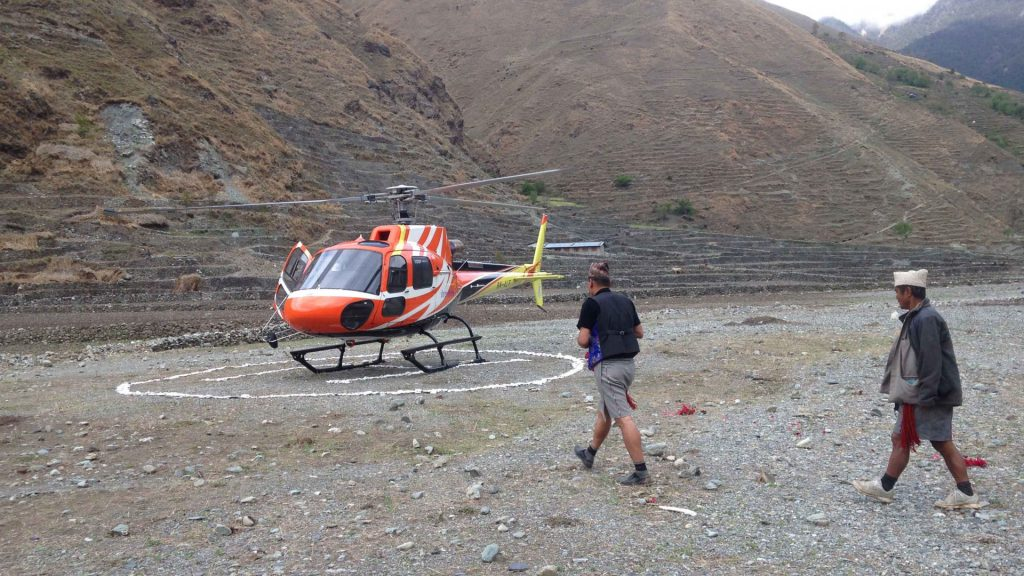 Rukum taksera helicopter tour 8