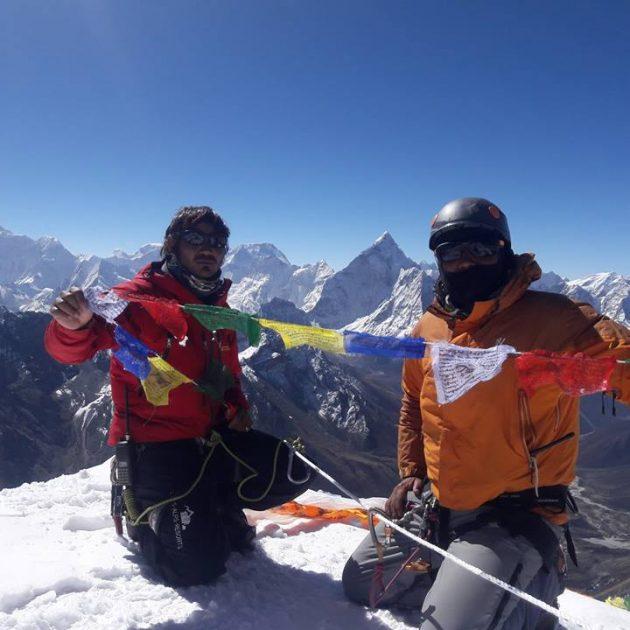 Lobuche west peak 002