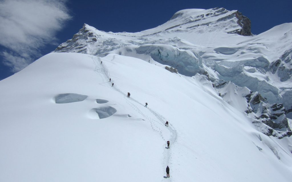 Mt cho oyu expedition 2