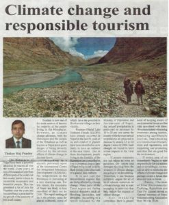 Article publish on rising nepal on 3 april 2019