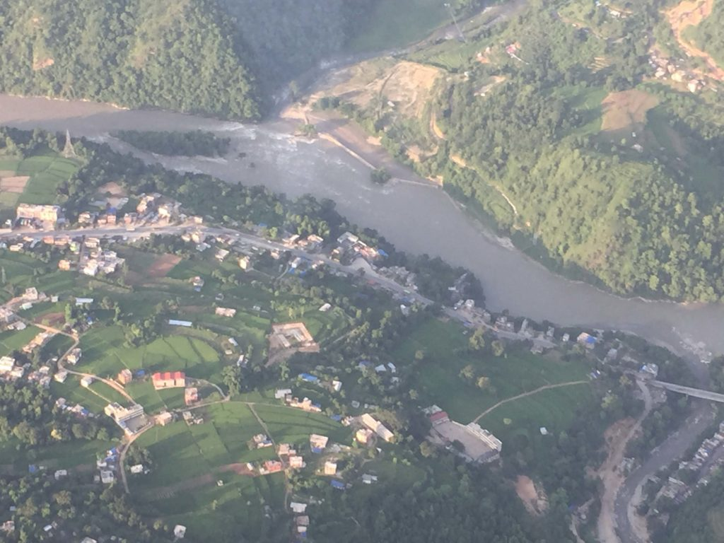 Kathmandu valley and chitwan helicopter tour (15)