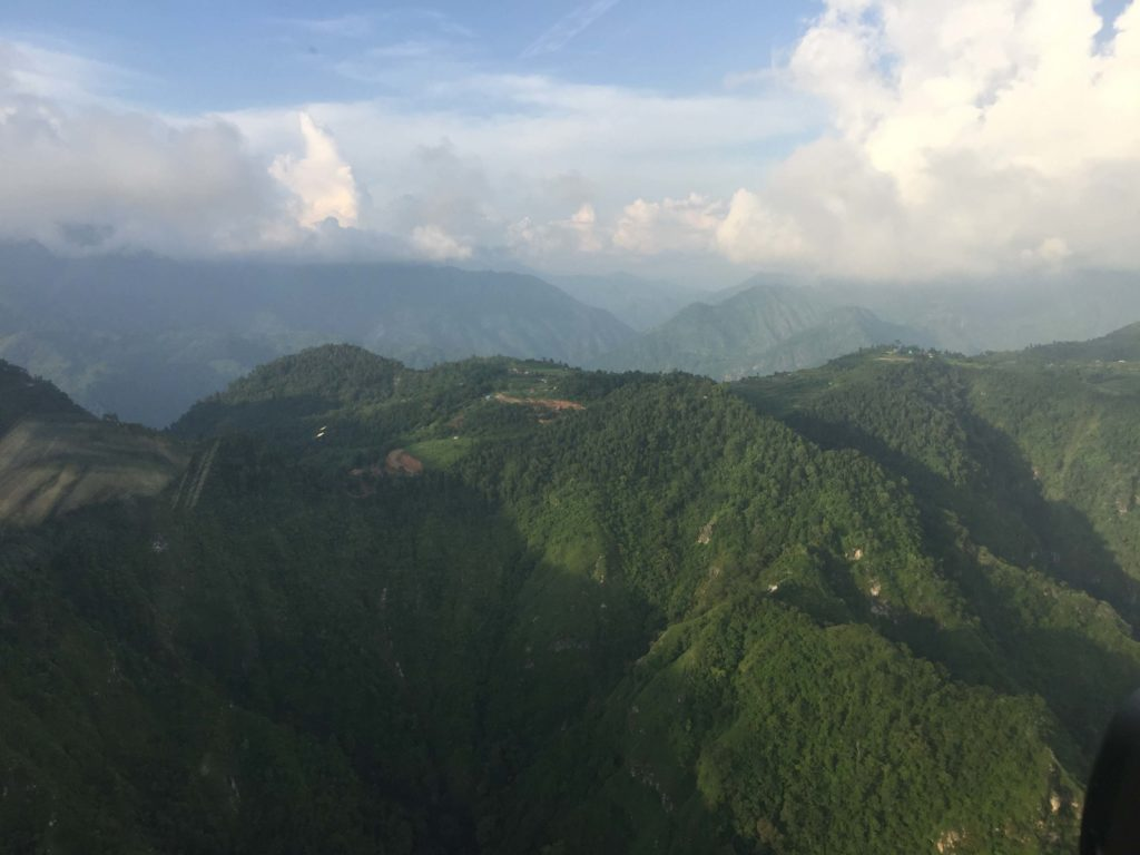 Kathmandu valley and chitwan helicopter tour (32)
