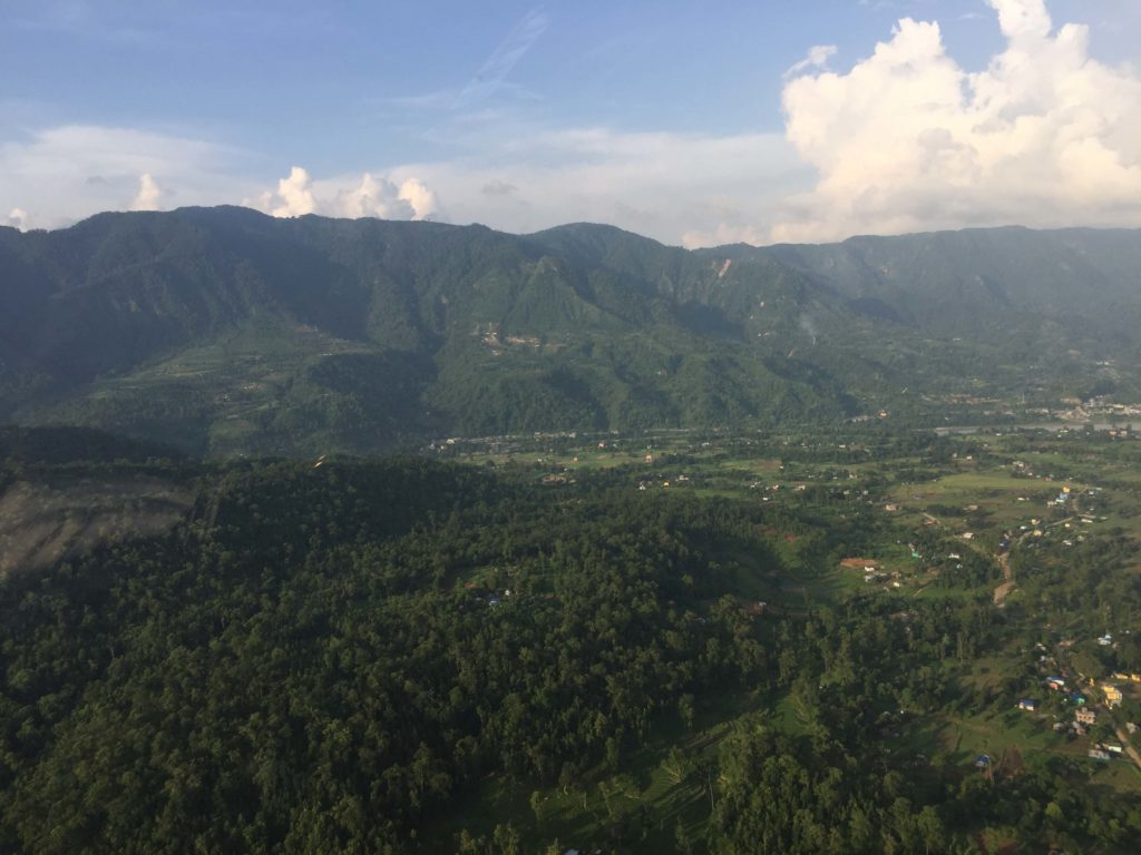 Kathmandu valley and chitwan helicopter tour (36)