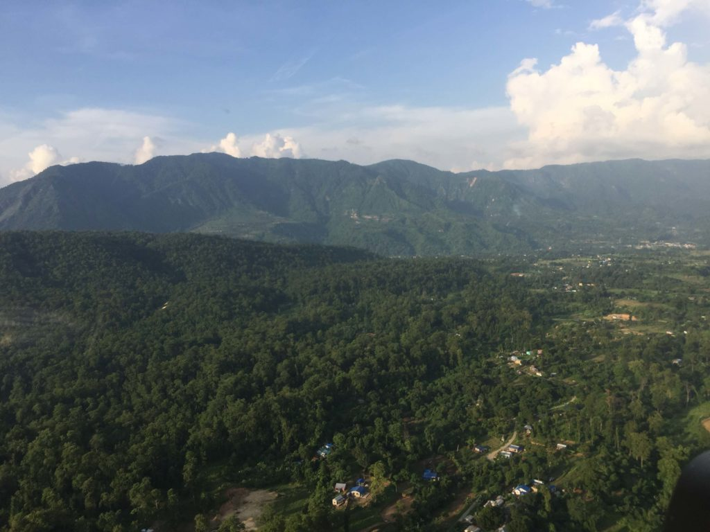 Kathmandu valley and chitwan helicopter tour (37)