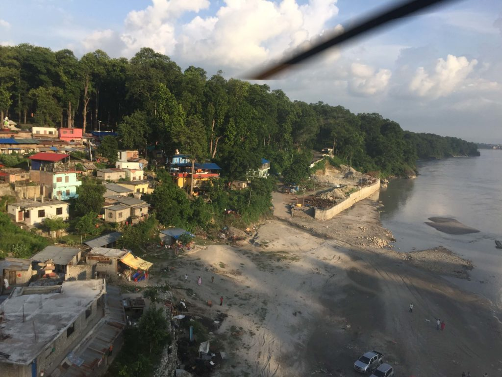Kathmandu valley and chitwan helicopter tour (45)