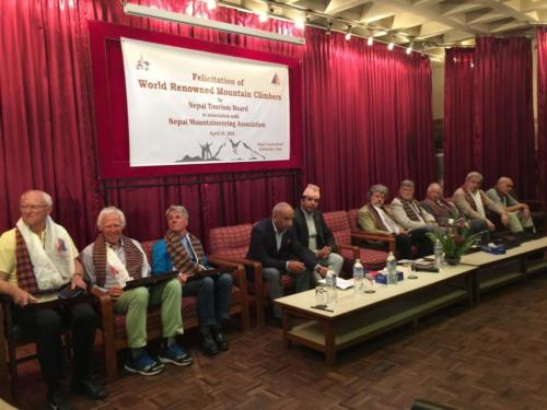 Felicitation of World Renowned Mountain Climbers By Nepal Tourism Board in association with Nepal (1)
